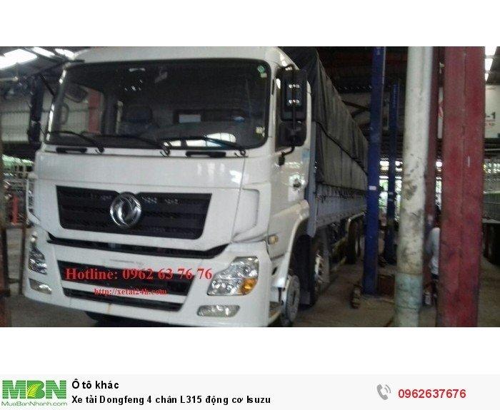 Xe tải Dongfeng 4 chân L315 động cơ Isuzu 2