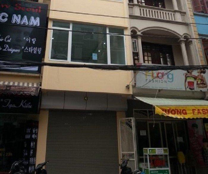 [CHO THUÊ]: Mặt phố Trần Duy Hưng, 45m2 X 5T, MT 4m, hợp làm kinh doanh, VP