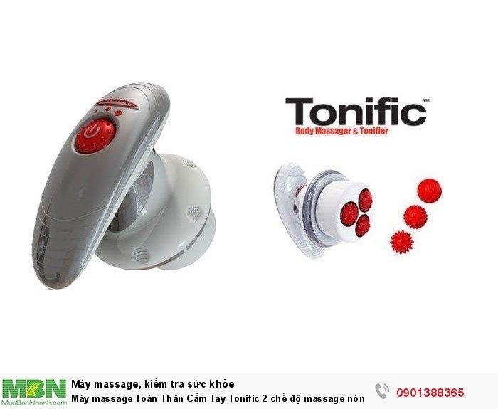 Máy massage cầm tay Tonific hoạt động dựa trên phương pháp vật lý trị liệu cổ truyền của người Châu Á ( còn gọi là phương pháp TONIFIC NÓNG và LẠNH ), cùng sự vận chuyển của quả cầu Acu-Sphere, giúp bạn có một vòng eo thon gọn và loại đi các lượng mỡ thừa trên cơ thể bạn.