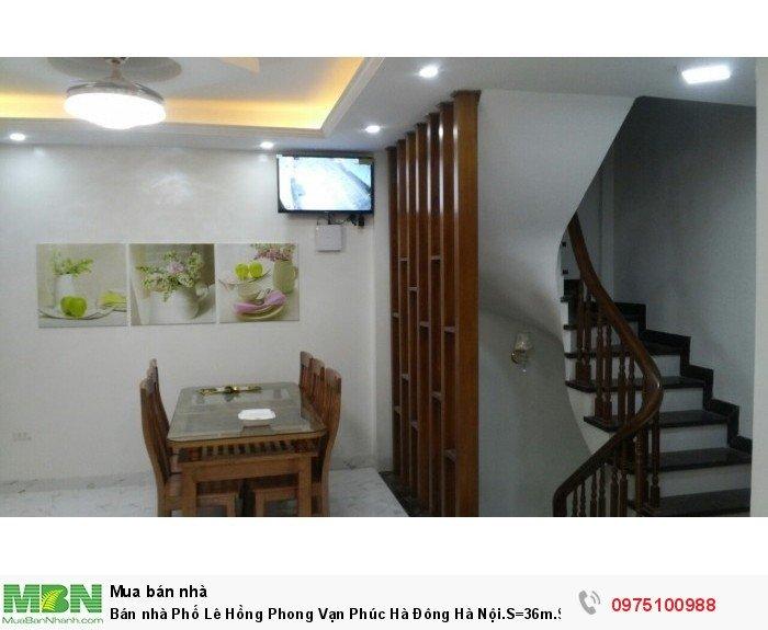 Bán nhà Phố Lê Hồng Phong Vạn Phúc Hà Đông Hà Nội.S=36m.$= 2.3 tỷ