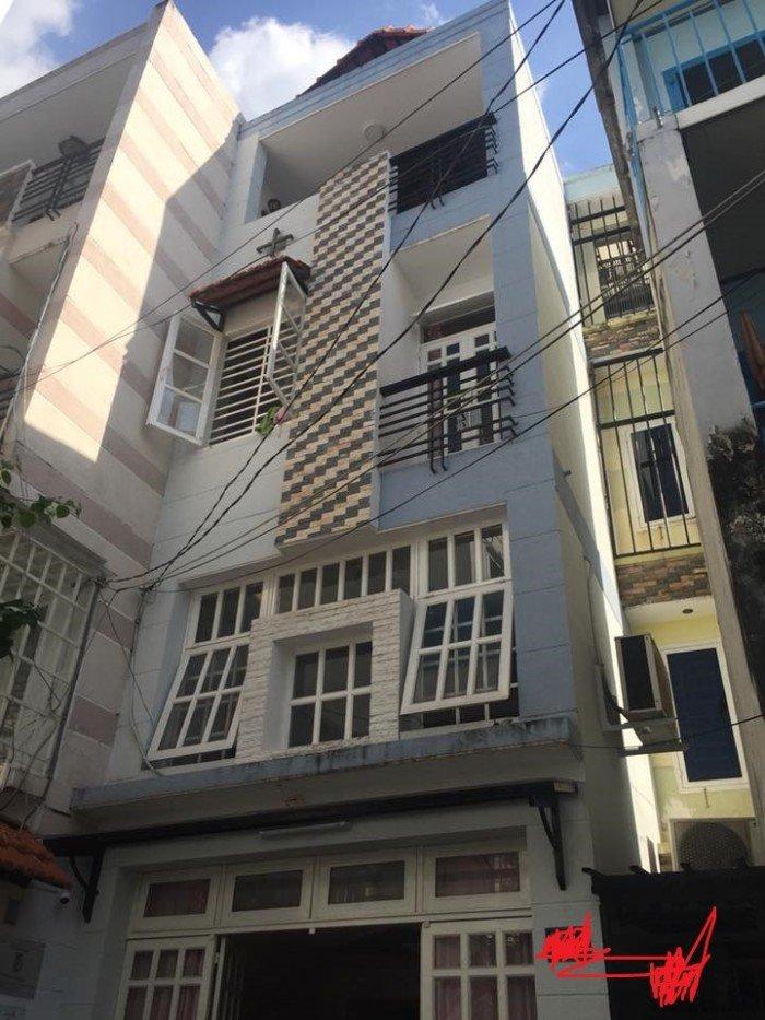 Nhà MT Huỳnh Văn Bánh, DT 45m