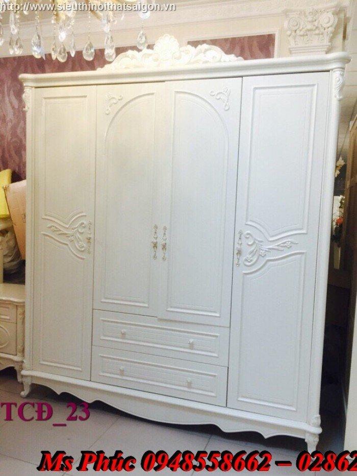 Xưởng sản xuất tủ quần áo cổ điển phong cách châu âu tại gò vấp - Nội Thất Kim Anh Sài Gòn1