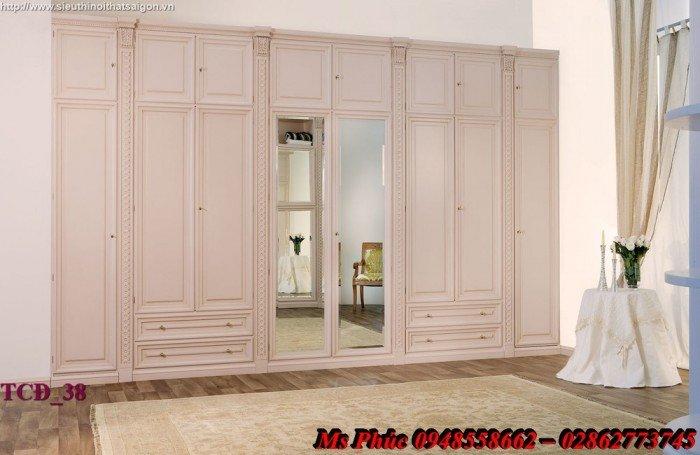Xưởng sản xuất tủ quần áo cổ điển phong cách châu âu tại gò vấp - Nội Thất Kim Anh Sài Gòn28
