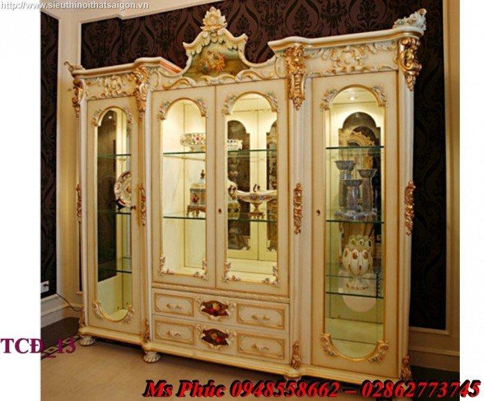 Xưởng sản xuất tủ quần áo cổ điển phong cách châu âu tại gò vấp - Nội Thất Kim Anh Sài Gòn10