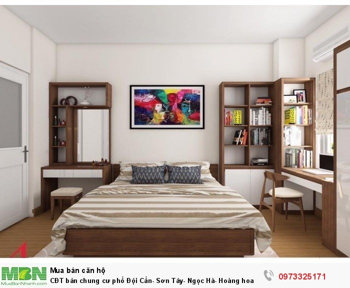CĐT bán chung cư phố Đội Cấn- Sơn Tây- Ngọc Hà- Hoàng Hoa Thám ở ngay full đồ 1-2 PN