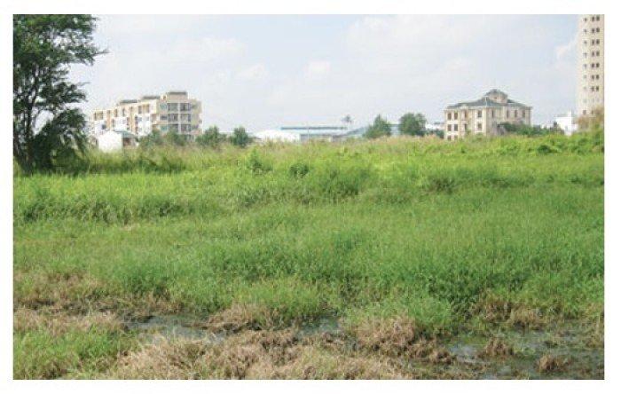 Bán đất thổ cư mặt tiền đường Số 1, P. Tân Tạo A, Q. Bình Tân. Diện tích : 18x87m. Thổ cư 100%