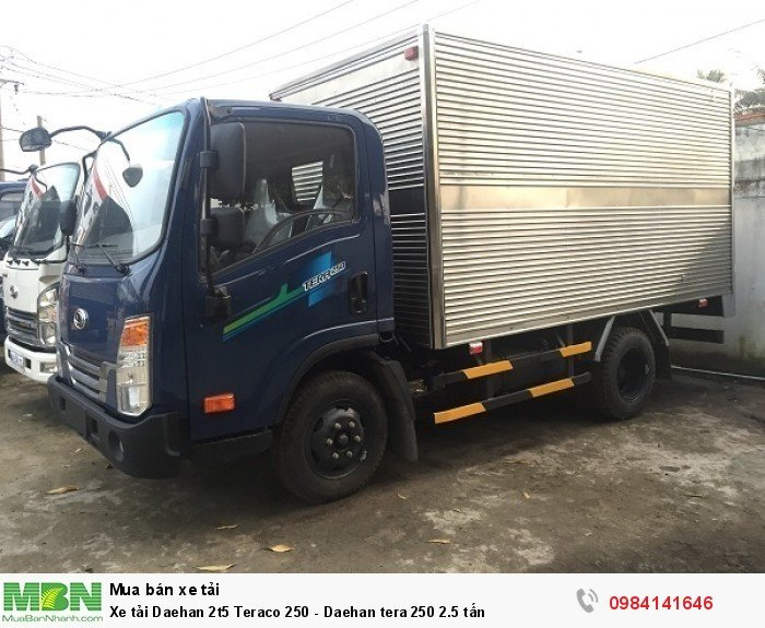Xe tải Daehan 2t5 Teraco 250 - Daehan tera 250 2.5 tấn 1
