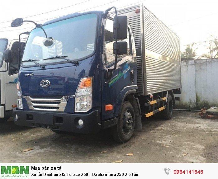 Xe tải Daehan 2t5 Teraco 250 - Daehan tera 250 2.5 tấn 0