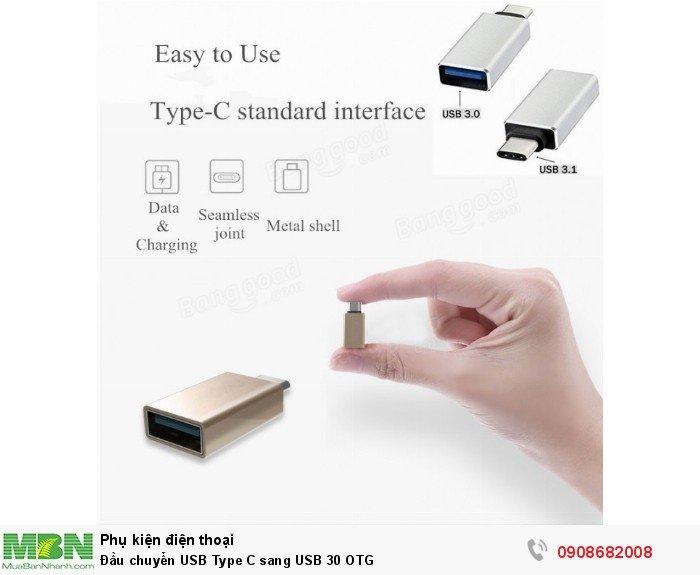 Đầu chuyển USB Type C sang USB 30 OTG