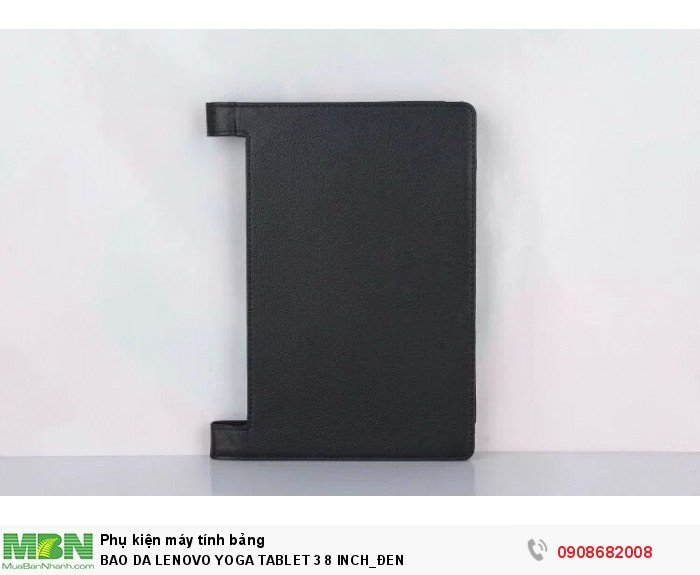 Bao da LENOVO YOGA TABLET 3 8 INCH đen