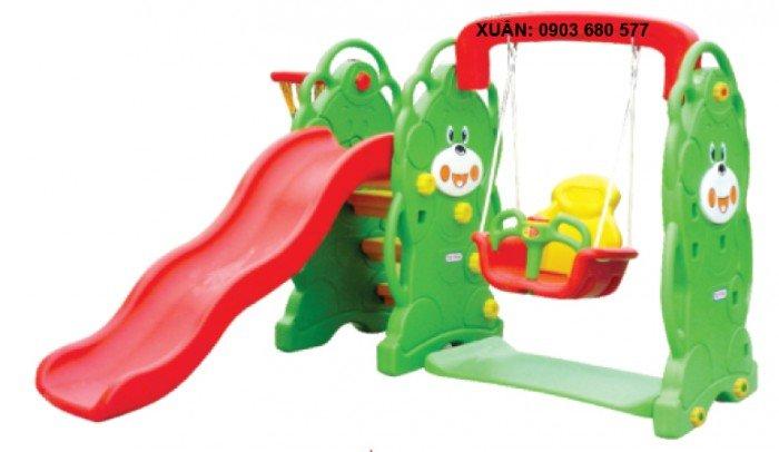 Cầu trượt liên hoàn và đồ chơi mầm non10