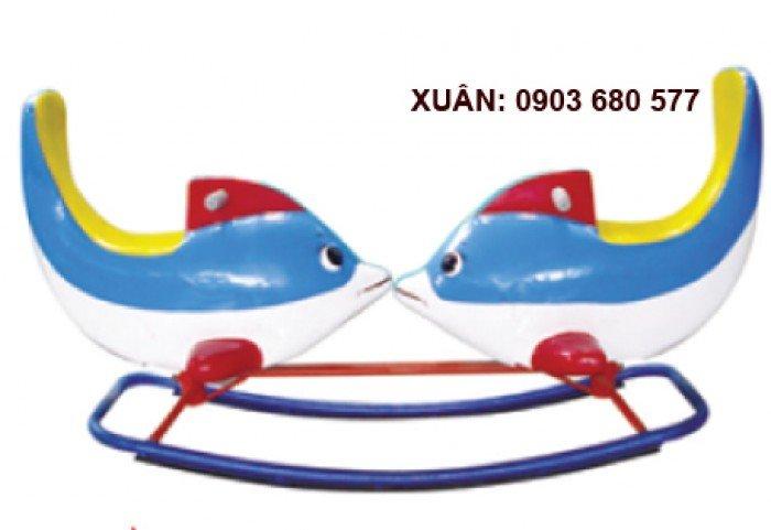 Cầu trượt liên hoàn và đồ chơi mầm non5