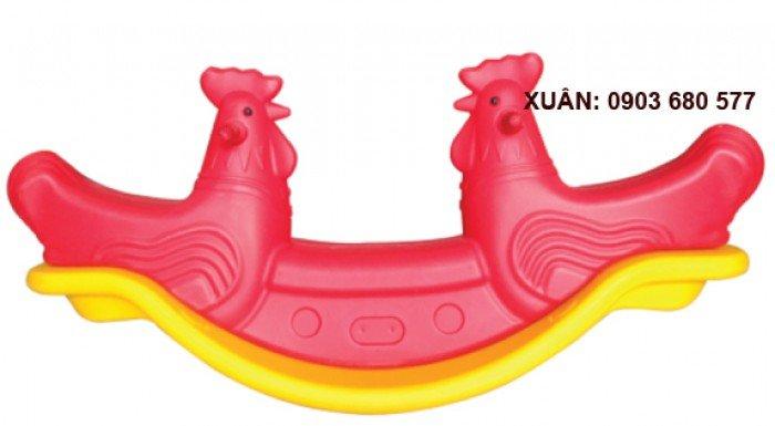 Đồ chơi an toàn cho trẻ - bập bênh nhựa đúc6