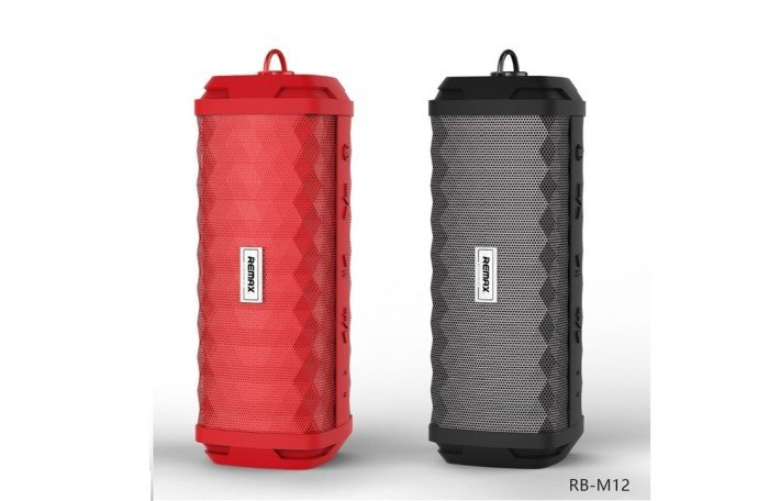 Loa Remax RB-M12 là sự kết hợp giữa nhựa ABS và màng kim loại tạo lên sự khỏa...