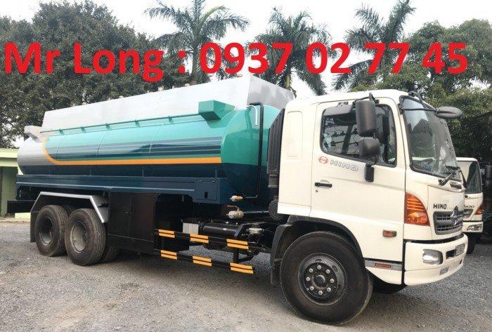 HINO FM8JNSA CHỞ XĂNG DẦU 19m3 , Xe bồn HINO chở xăng dầu 18m3 , xe chở xăng dầu HINO 18M3