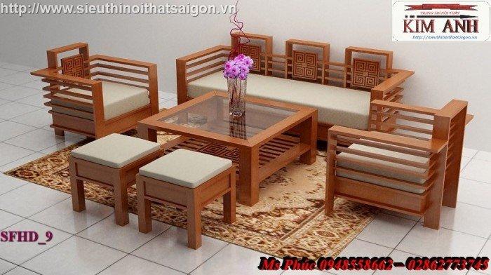 Sofa gỗ giá rẻ | sofa gỗ tự nhiên giá rẻ đẹp đến ngất ngây8