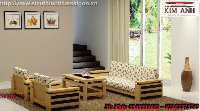 Sofa gỗ giá rẻ | sofa gỗ tự nhiên giá rẻ đẹp đến ngất ngây14