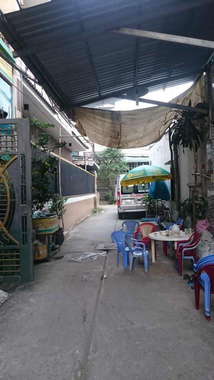Bán nhà hẻm 441, hẻm 4m Lê Văn Qưới, P.Bình Trị Đông A, Q.Bình Tân, TPHCM