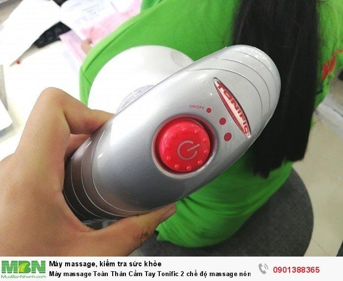 Máy massage Toàn Thân Cầm Tay Tonific 2 chế độ massage nóng và lạnh - MSN388300