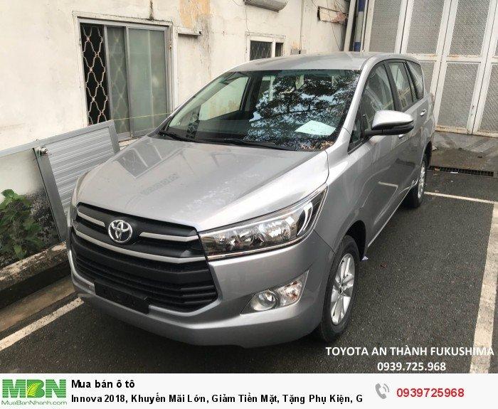Toyota Innova 2018, Giá lăn bánh hấp dẫn.