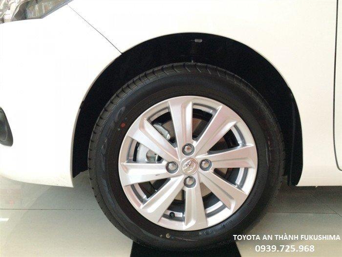 Toyota Vios 1.5E 2018 Số Tự Động Màu Trắng (040),Bảo Hiểm - Phụ Kiện - Tiền Mặt, Hỗ Trợ Trả Góp 90% Giá Trị Xe