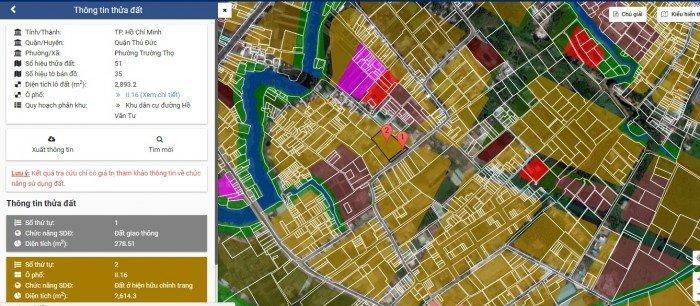 Cần tiền kinh doanh tết bán gấp đất D11, Trường Thọ. DT: 96m2, xây tự do, đường xe tải