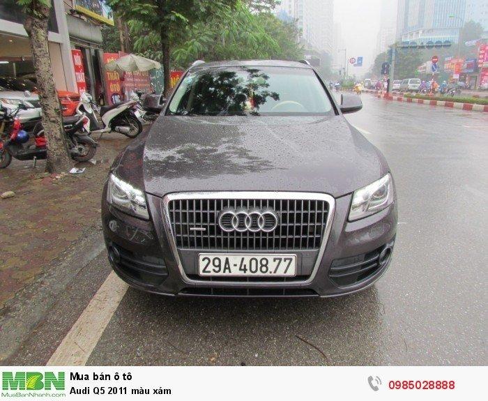 Audi Q5 2011 màu xám