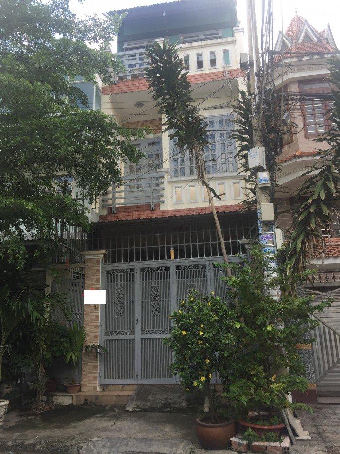 Bán gấp lô đất biệt thự DT 8x17 đường Nguyễn Văn Quá Q12.