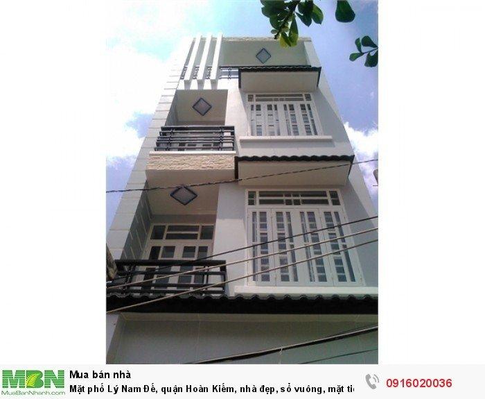 Mặt phố Lý Nam Đế, quận Hoàn Kiếm, nhà đẹp, sổ vuông, mặt tiền rộng, vỉa hè to!