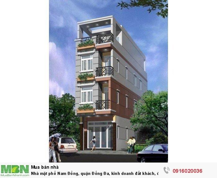 Nhà mặt phố Nam Đồng, quận Đống Đa, kinh doanh đắt khách, đẹp sững sờ, giá bất ngờ!