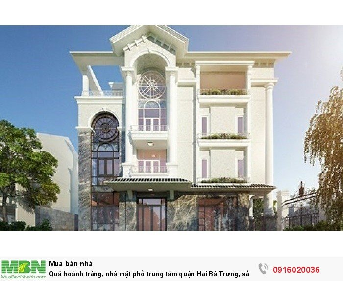 Nhà mặt phố trung tâm quận Hai Bà Trưng, sầm uất nhất phố Bà Triệu!