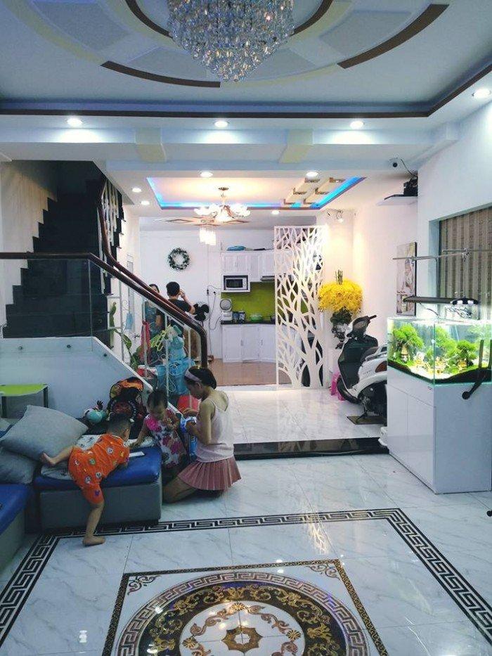 Nguyễn Văn Đậu 85m2 (15x6) 3 tầng Phường 6 Bình Thạnh.
