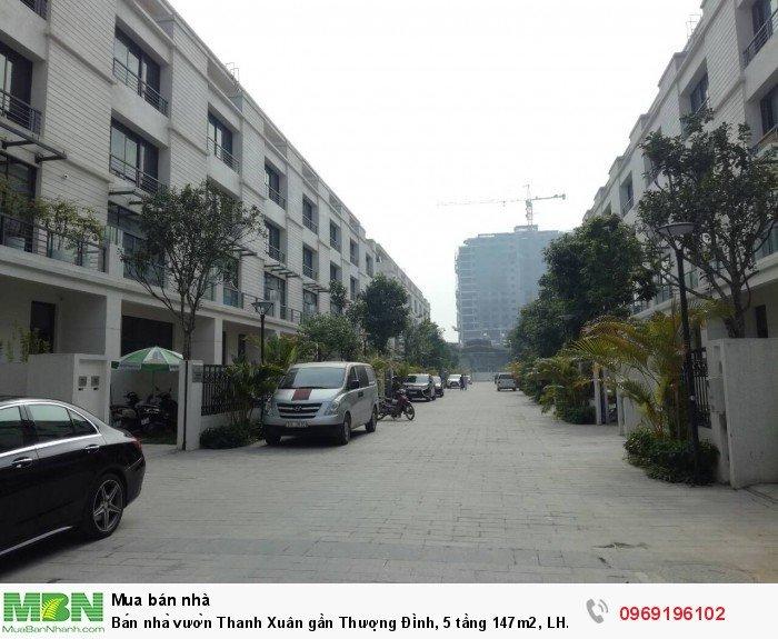 Bán nhà vườn Thanh Xuân gần Thượng Đình, 5 tầng 147m2