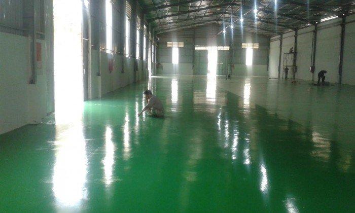 Nhà thầu chuyên nhận thi công sơn epoxy giá rẻ2