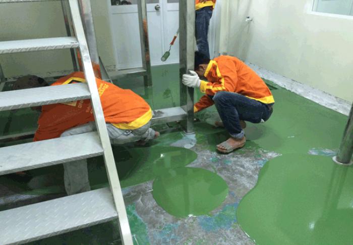 Nhà thầu chuyên nhận thi công sơn epoxy giá rẻ1