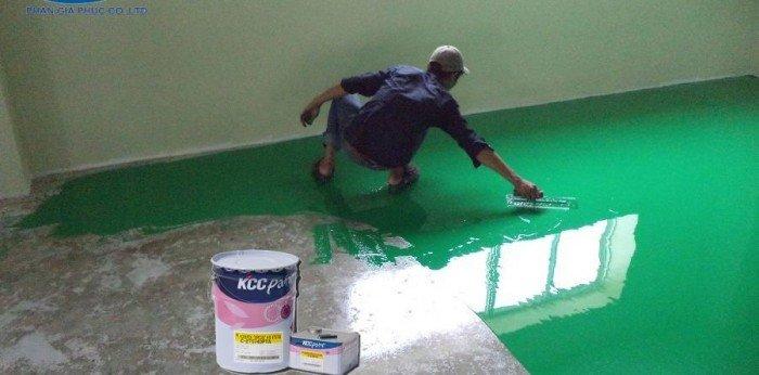 Nhà thầu chuyên nhận thi công sơn epoxy giá rẻ0