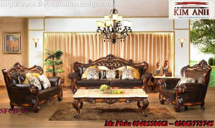 sofa gỗ cổ điển5