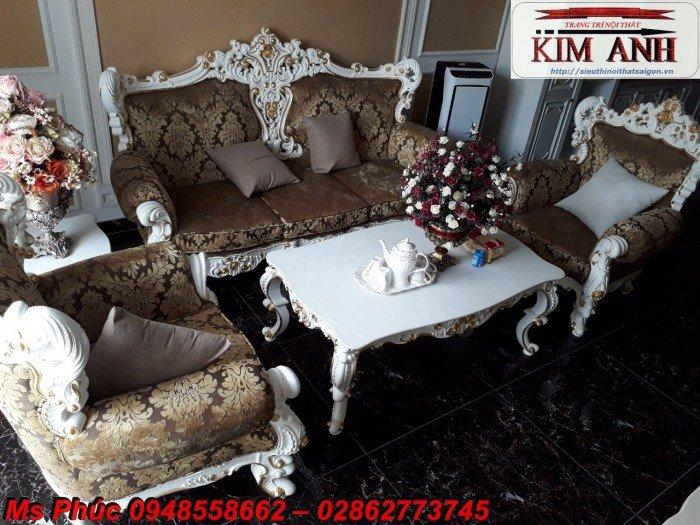 Sang trọng với mẫu sofa tân cổ điển nhập khẩu châu âu ms SFCĐ_8216