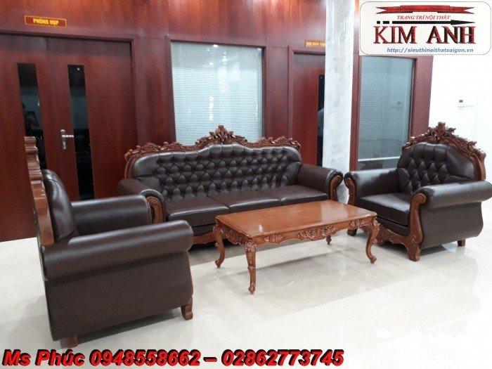 Sang trọng với mẫu sofa tân cổ điển nhập khẩu châu âu ms SFCĐ_8217