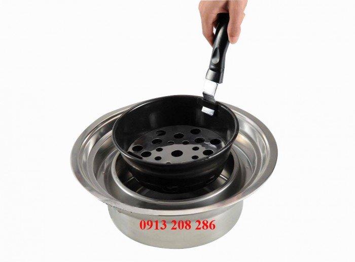 Bếp nướng lắp âm bàn, bếp nướng hút dương giá tốt cho quán nướng, nhà hàng5
