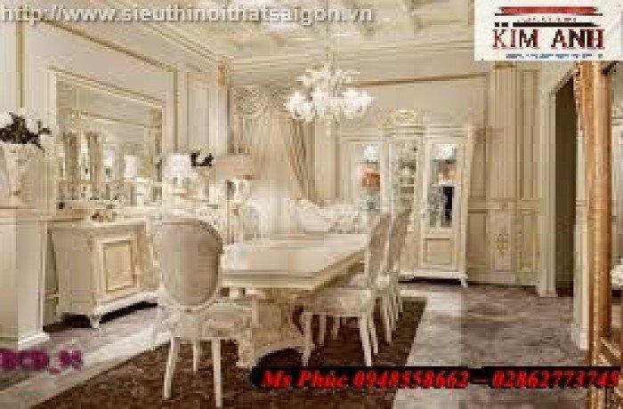 bàn ăn phong cách cổ điển19