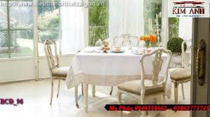 bàn ăn cổ điển giá rẻ22