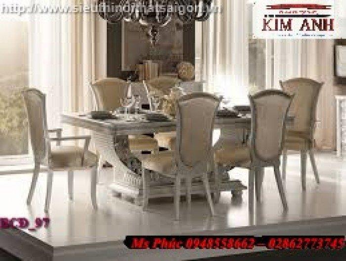 bộ bàn ăn cổ điển Long An15