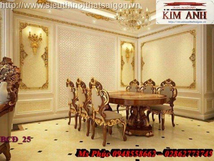bàn ăn phong cách hoàng gia24