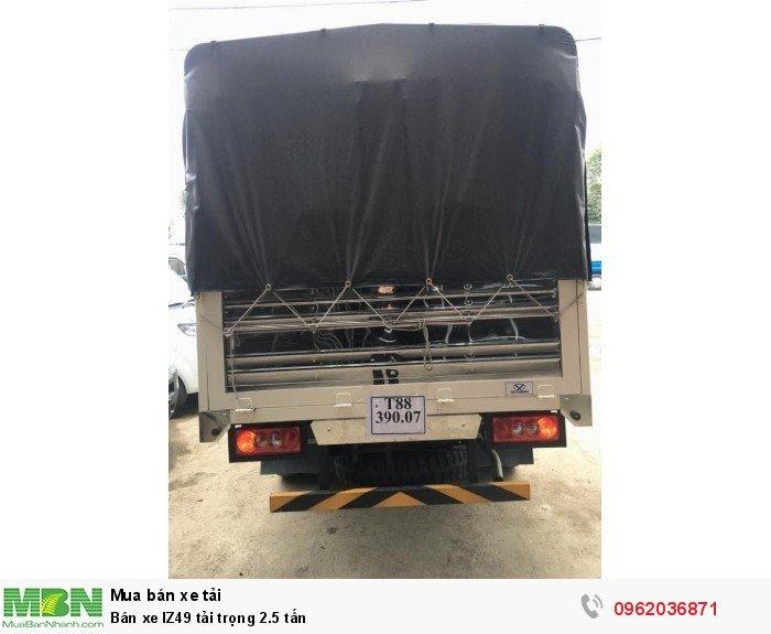 Bán xe IZ49 tải trọng 2.5 tấn