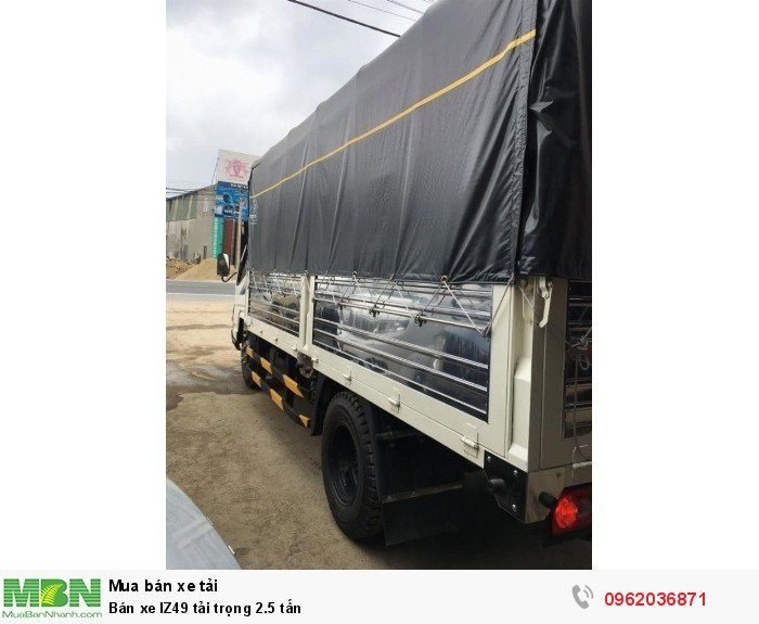 Bán xe IZ49 tải trọng 2.5 tấn 2