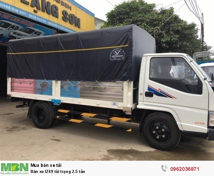 Bán xe IZ49 tải trọng 2.5 tấn 4