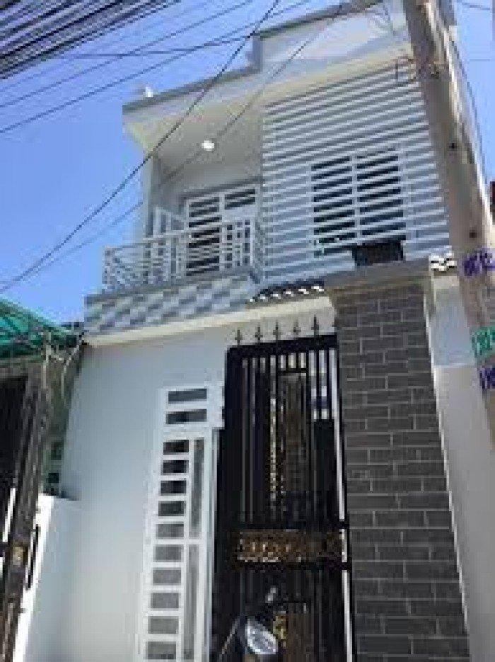 Nhà bán mới xây Sổ Hồng Riêng gần chợ Bình Chánh lộ giới 20m