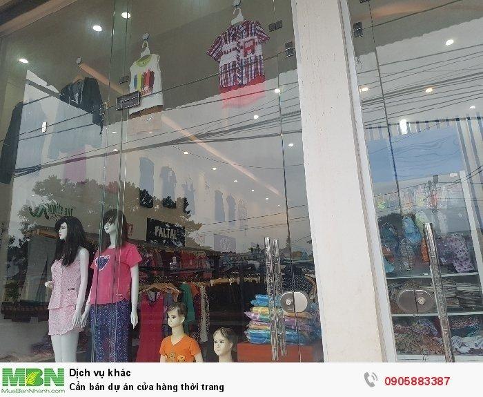 Cần bán dự án cửa hàng thời trang