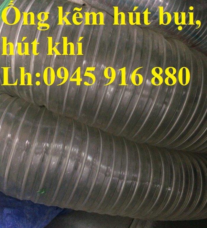 Ống nhựa hút bụi lõi thép phi 50, phi 60, phi 80, phi 90, phi 100, phi 120, phi 150, phi 200, phi 250